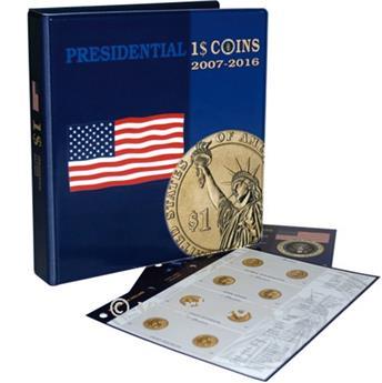 Album 1 Dollar commémoratif 2007 à 2011- MARINI®