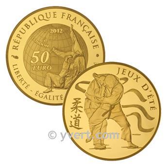 50 EUROS OR - FRANCE 2012 - JEUX D´ÉTÉ