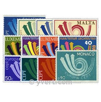 1973** - Année complète neuf EUROPA