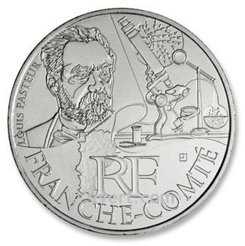 10 € DE LAS REGIONES - FRANCHE-COMTÉ - 2012