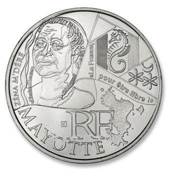 10 € DE LAS REGIONES - Mayotte - 2012