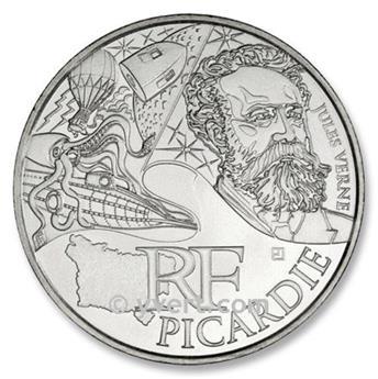 10 € DE LAS REGIONES - Picardie - 2012