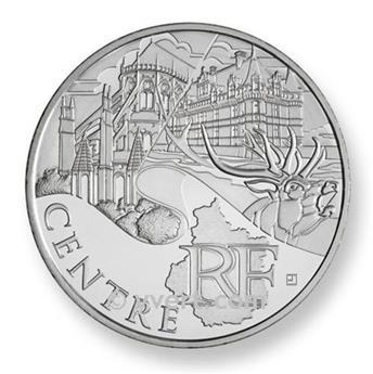10€ DES REGIONS - Centre 2011