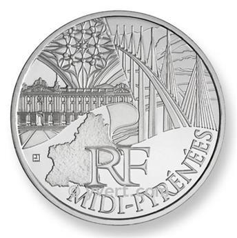 €10 DES REGIONS 2011 - Midi-Pyrénées 2011