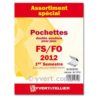 Assortiment de pochettes (double soudure) : 2012-1er semestre