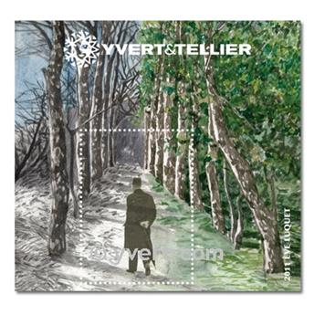 n° 4 -  Timbre France Bloc Yvert et Tellier