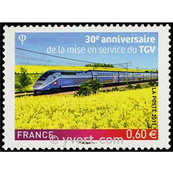 n.o 4592 -  Sello Francia Correos