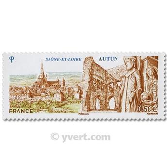 n° 4552 -  Selo França Correios