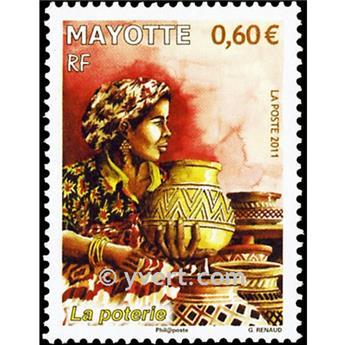 n.o 260 -  Sello Mayotte Correos