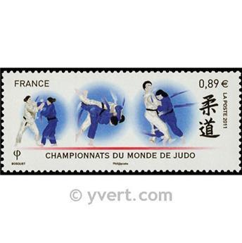 n.o 4574 -  Sello Francia Correos