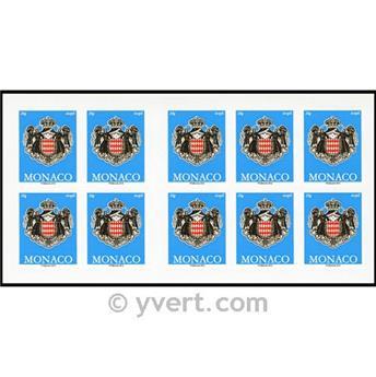 n° 17 -  Timbre Monaco Carnets