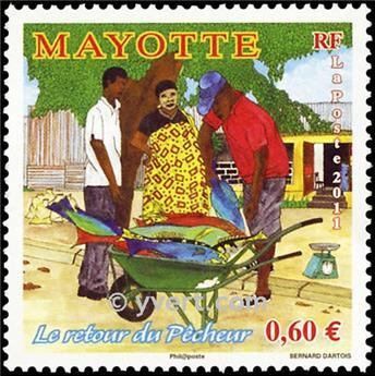 n.o 263 -  Sello Mayotte Correos