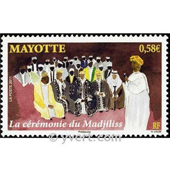 n.o 251 -  Sello Mayotte Correos