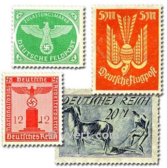 ALEMANHA ANTES DE 1945: lote de 300 selos