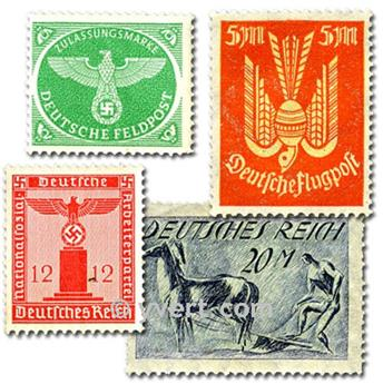 GERMANY BEFORE 1945: envelope of 300 stamps