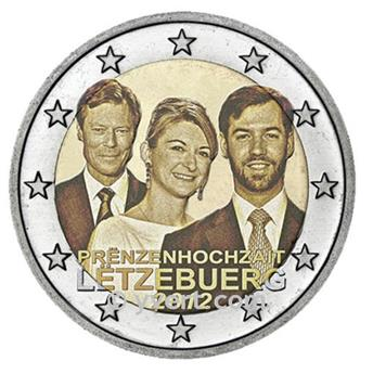 2 EURO COMMEMORATIVE 2012 : LUXEMBOURG