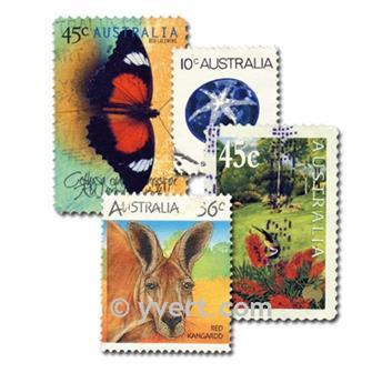 AUSTRALIA: envelope of 500 stamps