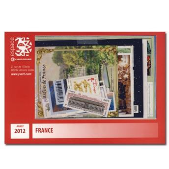 n° 4631/4710  - Timbre France Année complète  (2012)