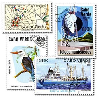CABO VERDE: lote de 50 sellos
