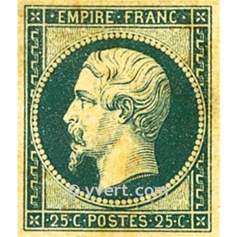 n.° 15 obl. - Napoleón III