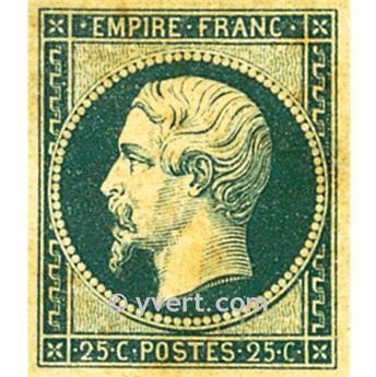 n° 15 obl. - Napoléon III (Empire Non dentelé)