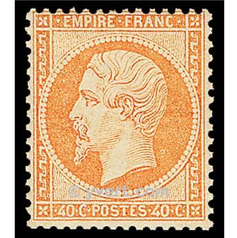 n° 23 obl. - Napoléon III (Empire non lauré)