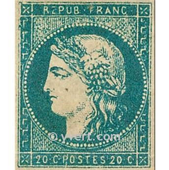 n° 44A obl. - Cérès (Émission de Bordeaux)