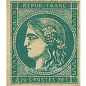 n° 45C obl. - Cérès (Émission de Bordeaux)