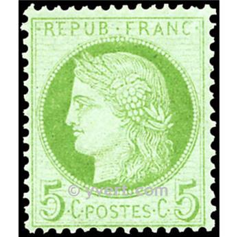 n° 53 obl. - Type Cérès dentelé (IIIe République)