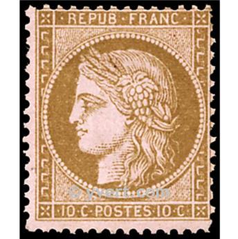 n° 58 obl. - Type Cérès dentelé (IIIe République)