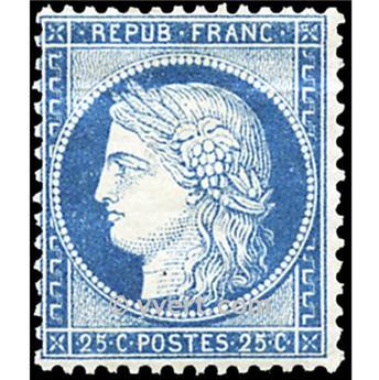 n° 60C obl. - Type Cérès dentelé (IIIe République)