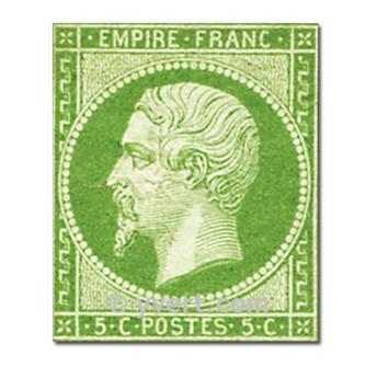 n° 12 obl. - Napoléon III (Empire Non dentelé)