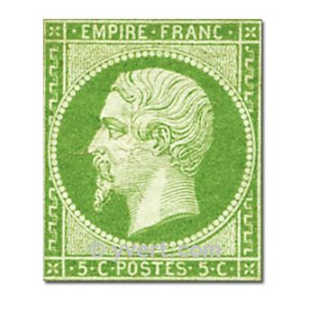 nr 12 obl. - Napoléon III