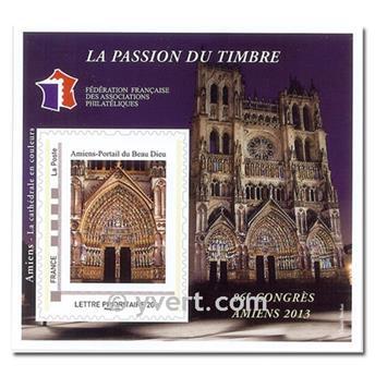 nr. 7 -  Stamp France FFAP Stamp