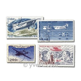 FRANCE AIRMAIL: envelope of 25 stamps