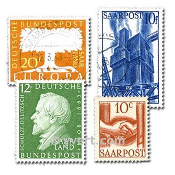 SARRE : lote de 50 selos