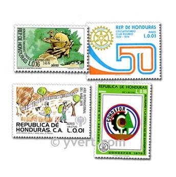HONDURAS: envelope of 25 stamps