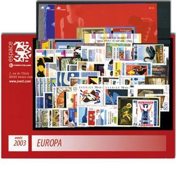 2003** - Année complète neuf EUROPA