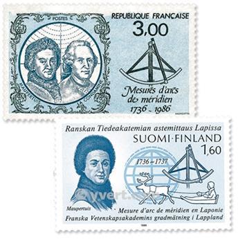 1986 - Emisiones comunes - Francia - Finlandia