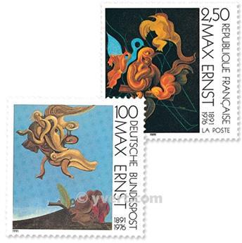 1991 - Emissão conjunta-França-Alemanha