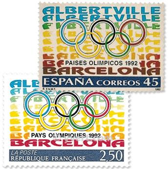 1992 - Emissão conjunta-França-Espanha