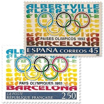 1992 - Émission commune-France-Espagne