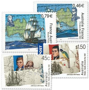 2002 - Joint issue-France-Australia