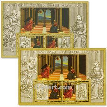 2005 - Emisiones comunes - Francia - Vaticano