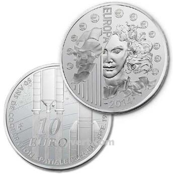 BE : 10 EUROS ARGENT - FRANCE 2014 - EUROPA