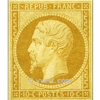 n.° 9 obl. - Príncipe-presidente Luis-Napoleón.