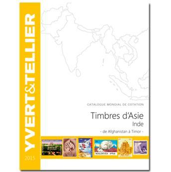 ASIE - INDE - 2015 (Catalogue des timbres d´Asie/Inde de Afghanistan à Tibet)