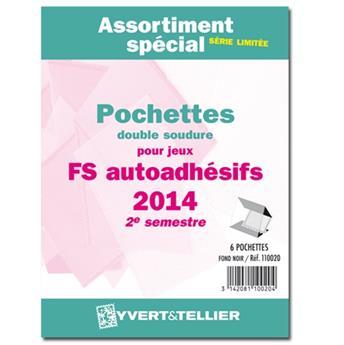 Assortiment de pochettes (double soudure) : 2014-2e sem. (Jeux Autoadhésifs)