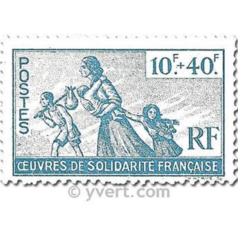 n.o 7 -  Sello Francia Libre