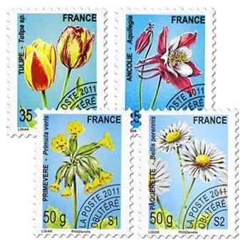 n° 259/262 -  Selo França Pré-obliterados